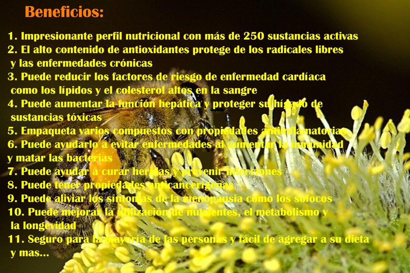 Polen de Abeja, Bee pollen, Bee pollen Granules, Natural Bee pollen, Pure Pollen 1