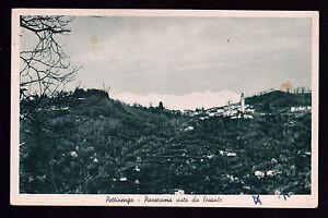 PETTINENGO-BIELLA-CARTOLINA-PANORAMA-VISTO-DA-LEVANTE-FP-OPACA-VG-1958-BONDA