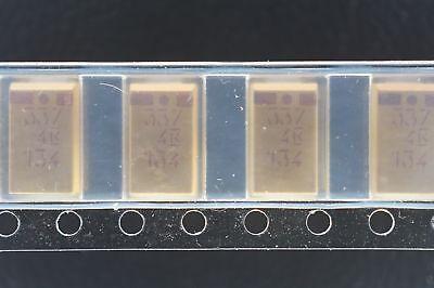 T494d337k004at Kemet Capacitor Tantalum 330uf 10 4v D Case 7343-31 Nos