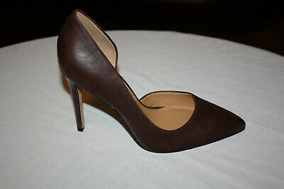 Jessica Simpson Pheona half- d'Orsay Curvy Side Open Point Toe Pump Sz 7