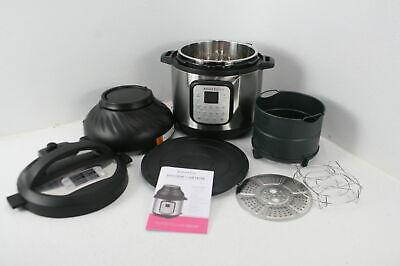 Instant Pot Duo Crisp 11 In 1 Electric Pressure Cooker Air Fryer Roast Bake 8 Qt
