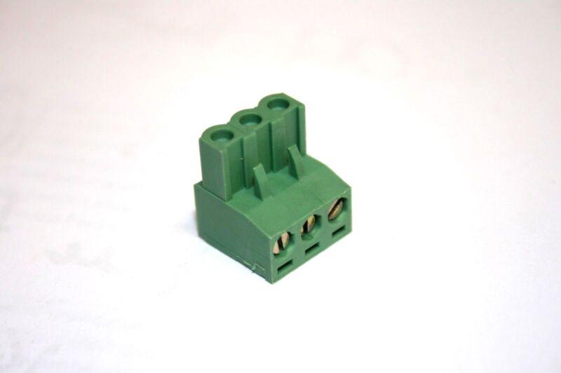 10 PCS. Augat® 3-Position--Euro-Mag--Terminal Block (EWTSEM3V2)
