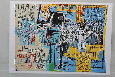 "JEAN-MICHEL BASQUIAT : ""BIRD ON MONEY""  Kunst-Postkarte"