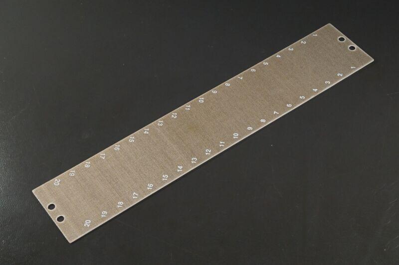 "MSB38TB20 MIL Terminal Block Marking Strip 20 Position 9.547"" x 1.5"" For 38TB20"