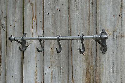 Cast iron antique style wall hook rack kitchen hooks pan rack utensil hanger AD1