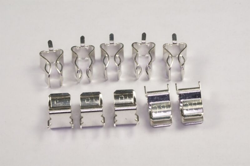 """Lot of 10 01220088Z Littelfuse Cartridge Fuse Clip 30A PC Pin for 1/4"""" D Fuses"""