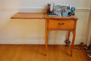Looking for old sewing machine table