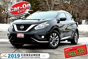 2018 Nissan Murano SL AWD LEATHER NAV PANO ROOF REAR CAM HTD SEA