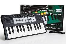 Novation Launchkey Mini in MINT condition with Ableton Live Lite Brunswick West Moreland Area Preview