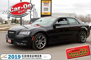 2018 Chrysler 300 S LEATHER REAR CAM HTD SEATS NAV READY LOADED