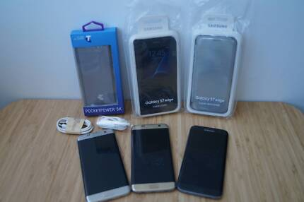 Samsung Galaxy S7 Edge Gold Black Silver 32GB AUStock Accessories