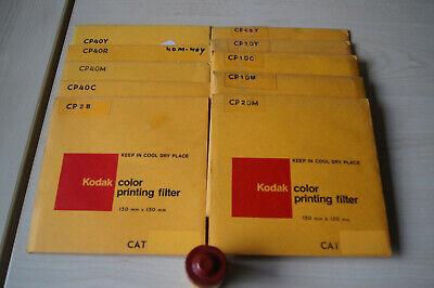 Vintage Kodak 6in. Color Printing Filters