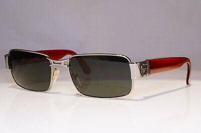 GIANNI VERSACE Mens Vintage 1990 Sunglasses Silver MEDUSA MOD S45 COL 76M 25877