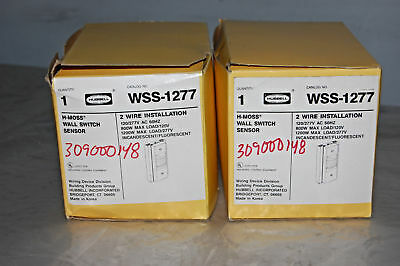 Hubbell Wss-1277 Hall Switch Motion Sensor Lot Of 2