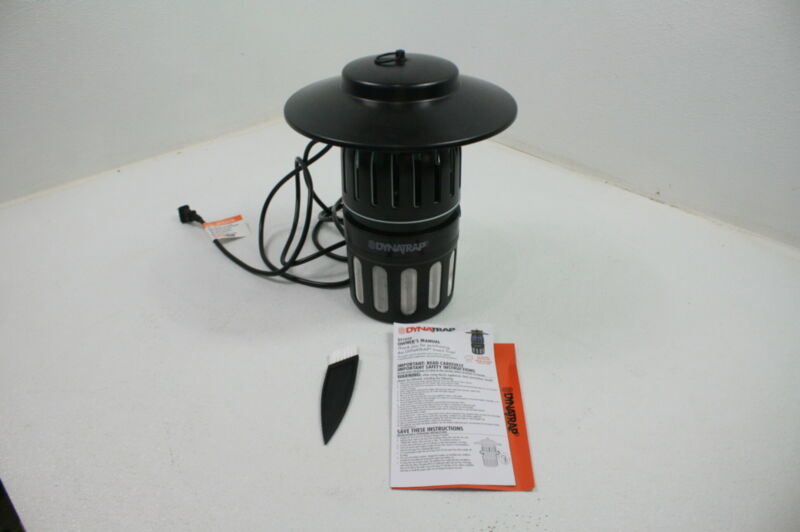 Dynatrap DT1050 Black Lightweight Near Silent Insect Half Acre Mosquito Trap