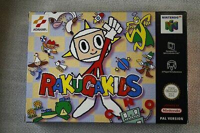 Nintendo 64 * RAKUGAKIDS - Rakuga Kids * Konami * EUR * N64 !! !!