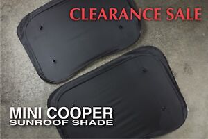 Mini Cooper Sunroof Shade also fits Clubman Countryman Paceman