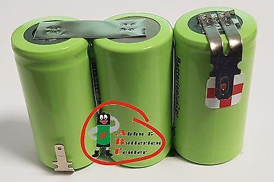 GARDENA Accu60 Accu 60 Akku Accu Ersatzakku  3,6V 3000mAh Ni-MH  ohne zu Löten ()