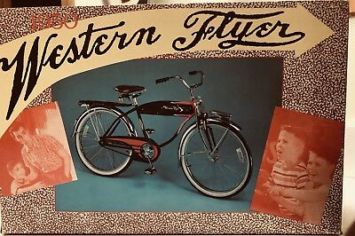 Bicycle Die Cast Model Collector Western Flyer Ltd Edition NIB AUTHENTIC