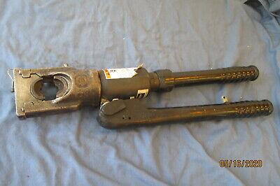 Burndy Hypress Y39 12 Ton Self Contaned Hydraulic Crimping Tool Crimper W Die