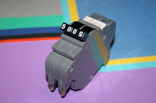 FEDERAL PACIFC UBI 50 AMP 2-POLE  BREAKER TYPE NC THIN SAVE $$$S