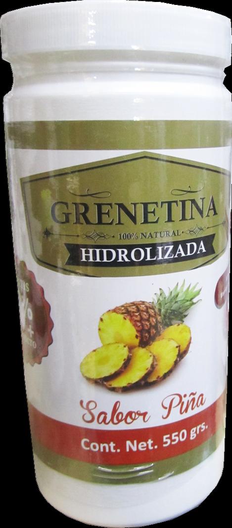 GRENETINA 100% NATURAL HIDROLIZADA { Pineapple Flavor///Piña }