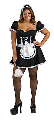 Frenchie the Maid French Chamber Fancy Dress Halloween Plus Size Adult Costume