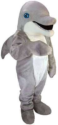 Dolphins Costume (Dolphin Professional Quality Lightweight Mascot Costume Adult)