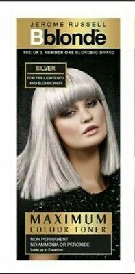 Jerome Russell Bblonde Maximum Colour Toner - Silver