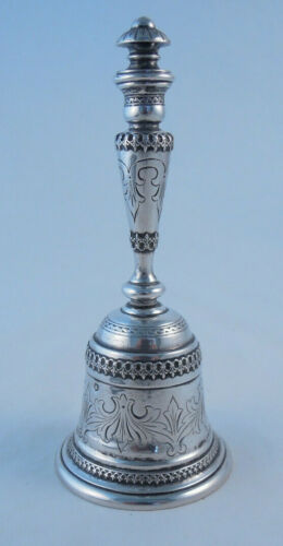 AUSTRIAN SILVER BELL BY UNKNOWN MAKER NOT STERLING