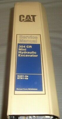 Cat Caterpillar 304 Cr Excavator Service Shop Repair Manual Book Sn Nad Btn