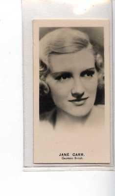 (Je1233) LEA,RADIO STARS,JANE CARR,1935,#7