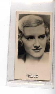 (Je1229) LEA,RADIO STARS,JANE CARR,1935,#7