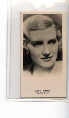 (Je1231) LEA,RADIO STARS,JANE CARR,1935,#7