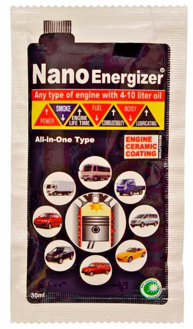 Nano Energizer Oil Additive - Protect Your Car/Motorbike Engine, Save Fuel