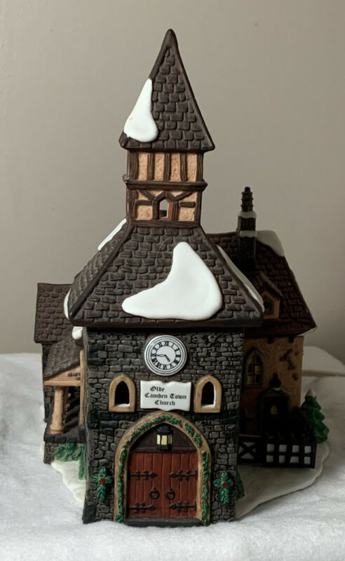 Dept 56 Dickens Village The Olde Camden Town Church Christmas Carol Revisited