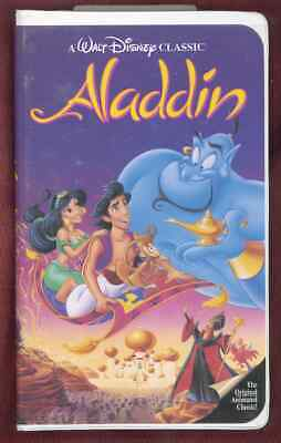 ALADDIN WALT DISNEY'S CLASSIC VHS 1662HOME VIDEO
