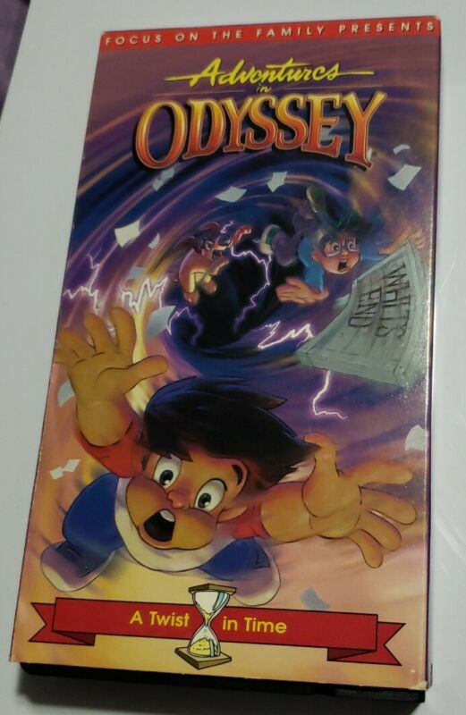 Adventures In Odyssey VHS A Twist In Time 1997 Focus on the Family Episode 11