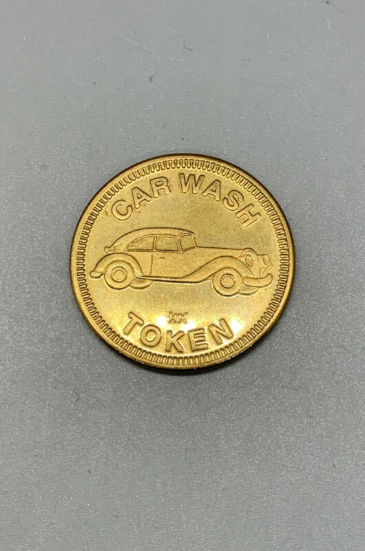 VTG CARWASH TOKEN NON REFUNDABLE NO CASH VALUE!