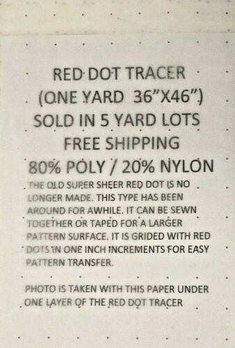 RED DOT TRACER 5 YARDS