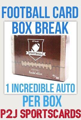 Hit Parade 2020 Limited FOOTBALL CARD Box BREAK?1 RANDOM TEAM?NFL?Break 3401