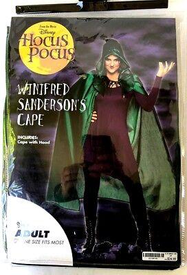 Disney Hocus Pocus Winifred Sanderson CAPE Halloween Costume  - Hocus Pocus Winifred Costume