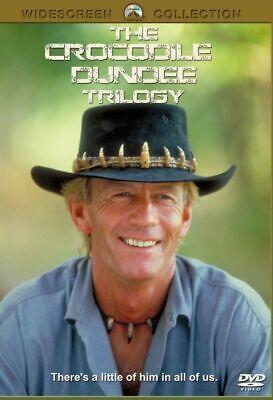 Crocodile Dundee trilogy 1 2 & 3 DVD Paul Hogan New and Sealed