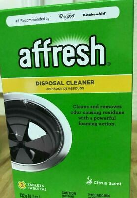 2X Affresh W10509526 Disposal Cleaner With A Powerful Foaming Action, 6 Piece,