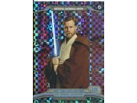 Kenobi Obi-Wan Star Wars Chrome Perspectives Refractor Parallel Base #12E Ben