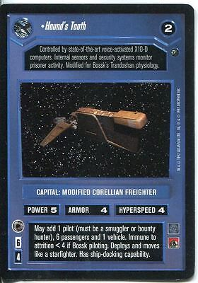 C39 Star Wars Vehicles #25 Hound/'s Tooth Trade Card