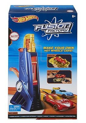 Hot Wheels Fusion Factory Car Maker Set New In Box Free Shipping
