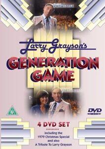 LARRY GRAYSON GENERATION GAME 4 DVD SET 8 EPISODES - CHRISTMAS 1979 - TRIBUTE T