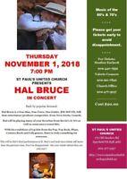 Hal Bruce Concert
