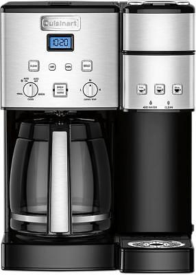 Cuisinart - Coffee Center 12-Cup Coffee Maker and Distinguish-Serve Brewer - Black...